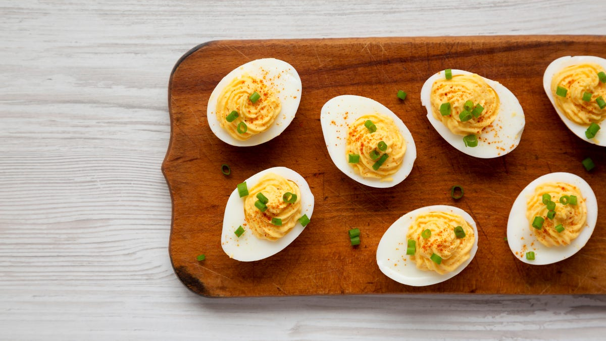 Fix Runny Deviled Eggs With Instant Mashed Potatoes