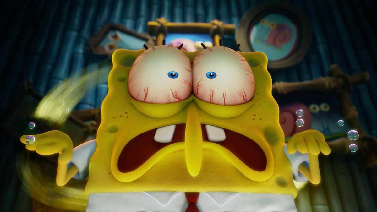 SpongeBob loses Gary in exclusive The SpongeBob Movie: Sponge On The Run clip