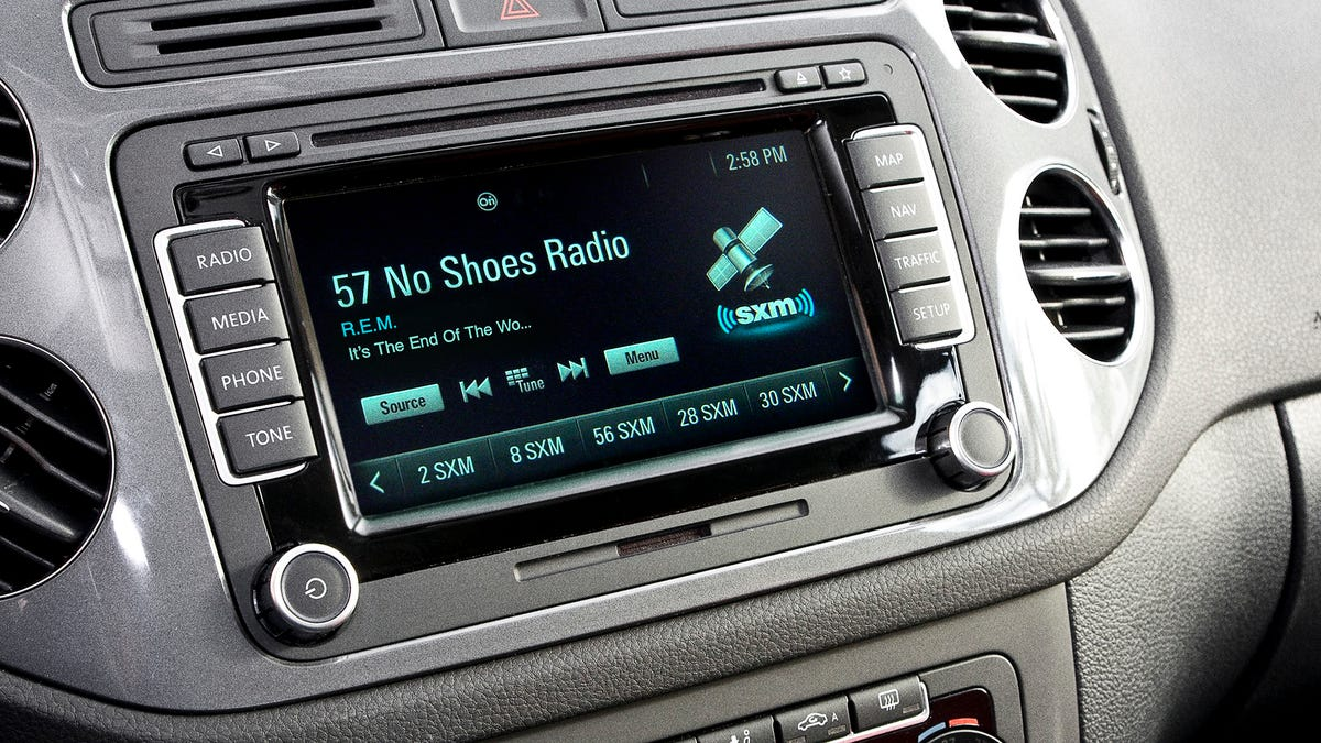 Car's Satellite Radio Display Taking Its Sweet-Ass Time To Reveal Entire Name Of Song - the onion