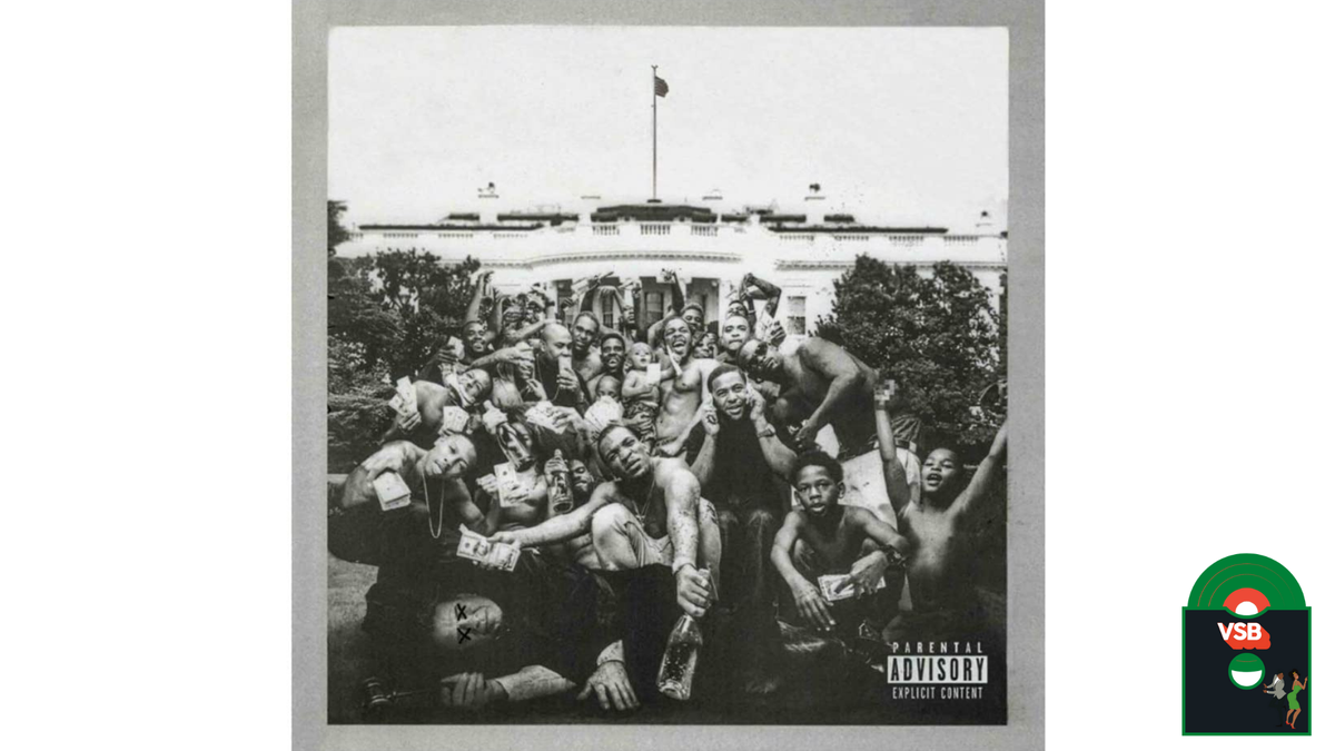 28 Days of Album Cover Blackness With VSB, Day 21: Kendrick Lamar's To Pimp a Butterfly (2015)