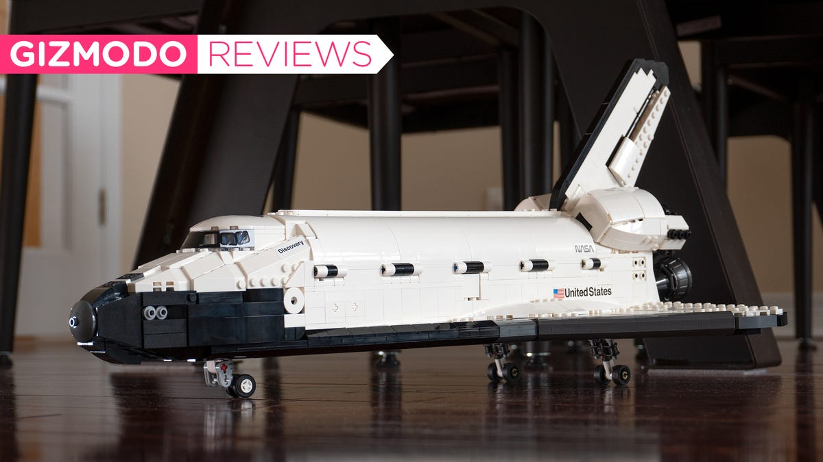 Lego's 2,354-Piece Space Shuttle Discovery Is Worth Every Penny