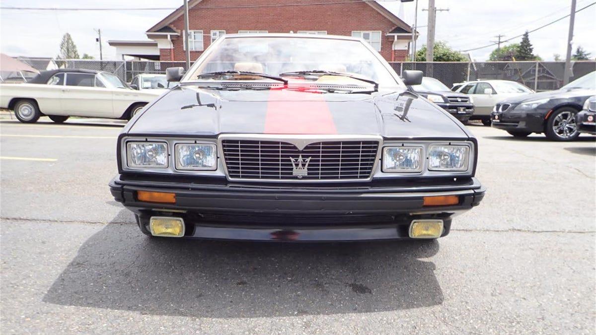 Would You Go $8,950 For This Maserati Biturbo Zagato Spyder?