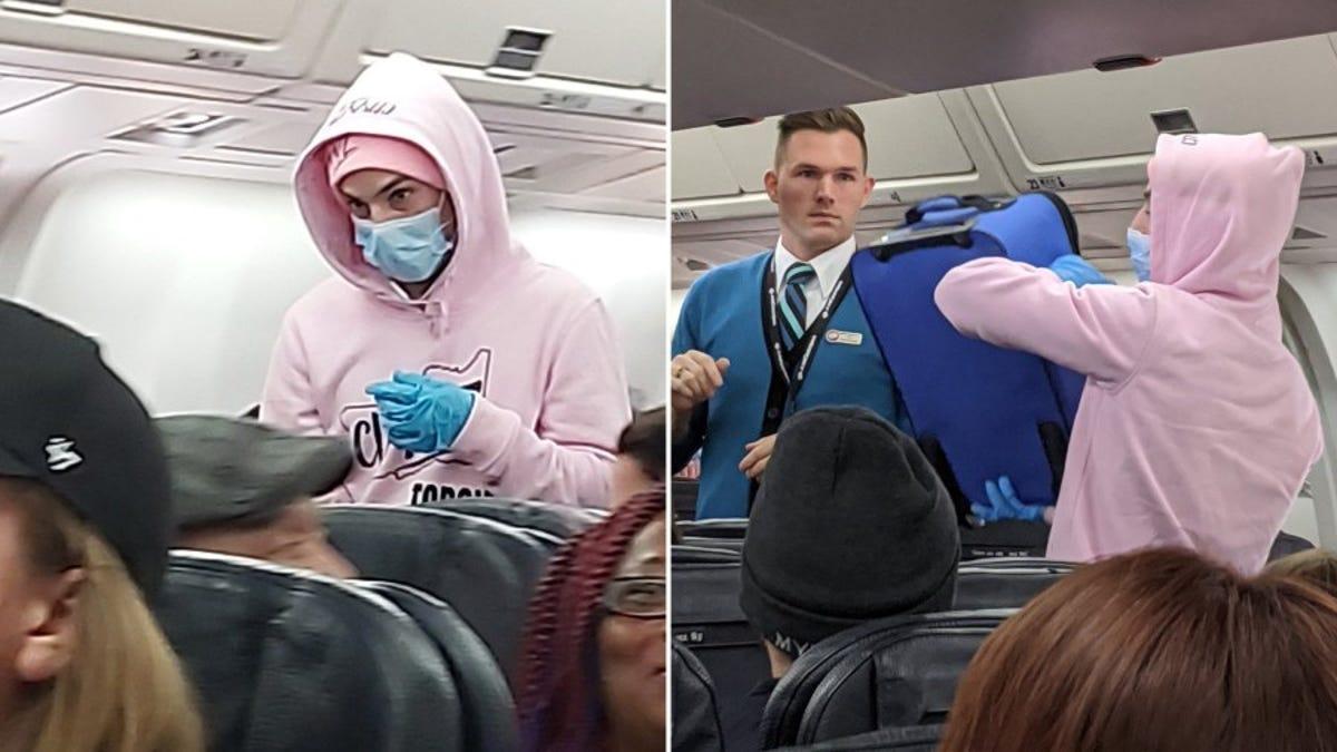 No hagas la estupidez de bromear en un avión diciendo que tienes el coronavirus. Te puede pasar como a este yo