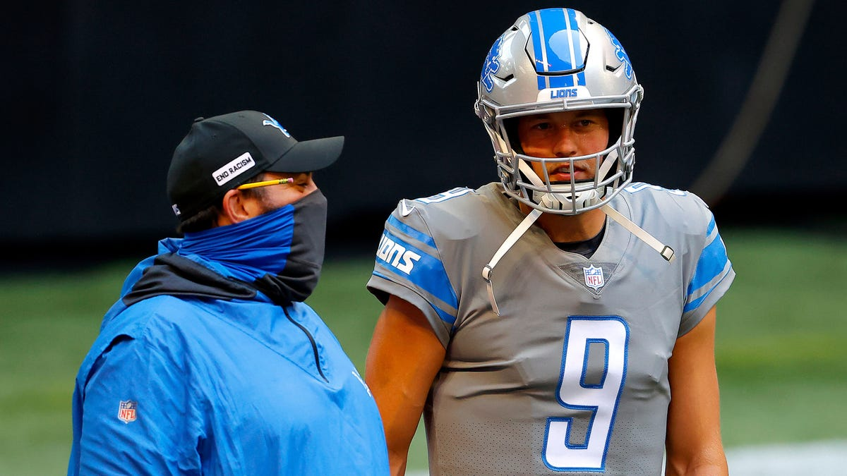 Did Matt Patricia light up Matthew Stafford from a (laughably obvious) burner account?