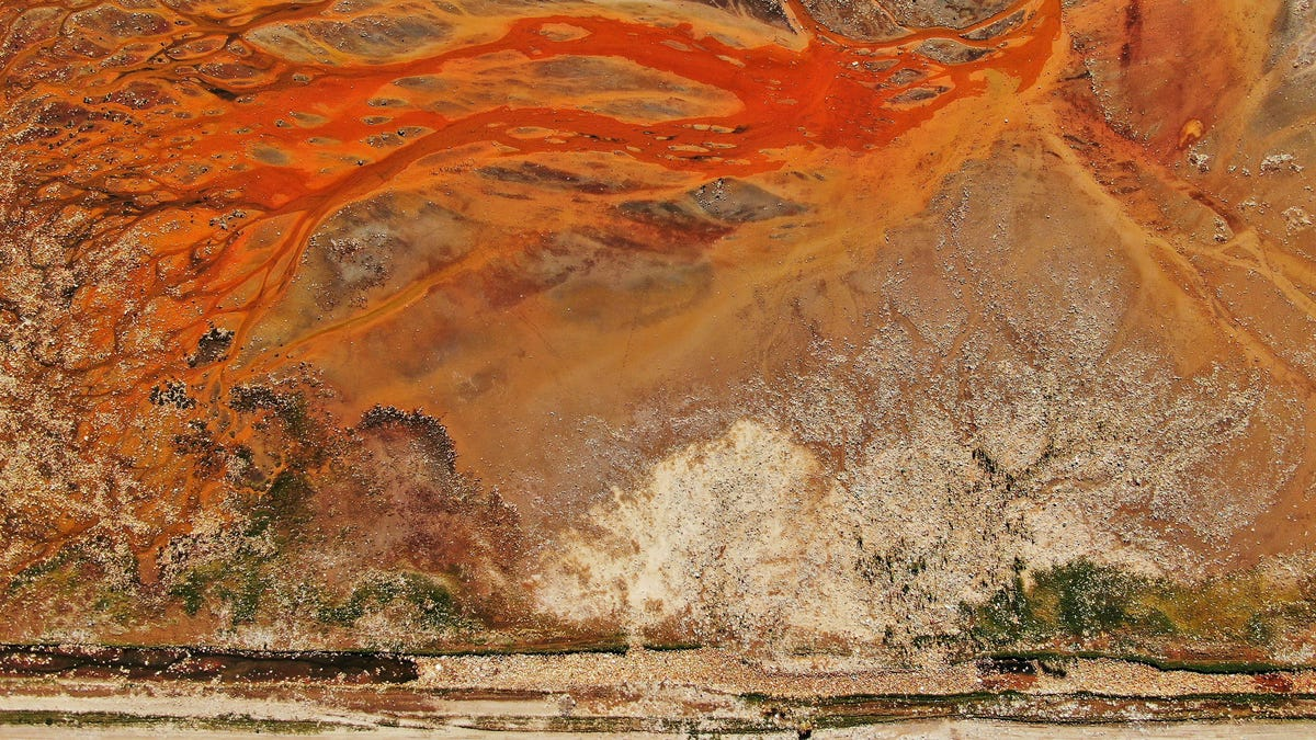 This Isn't Art. It's an Aerial View of a Trash-Filled Landscape