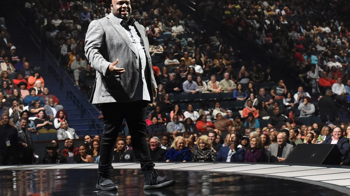 Pastor John Gray Pledges, 'I'll See You Next Week, and the Next Week After That' While Megachurch Faces Eviction