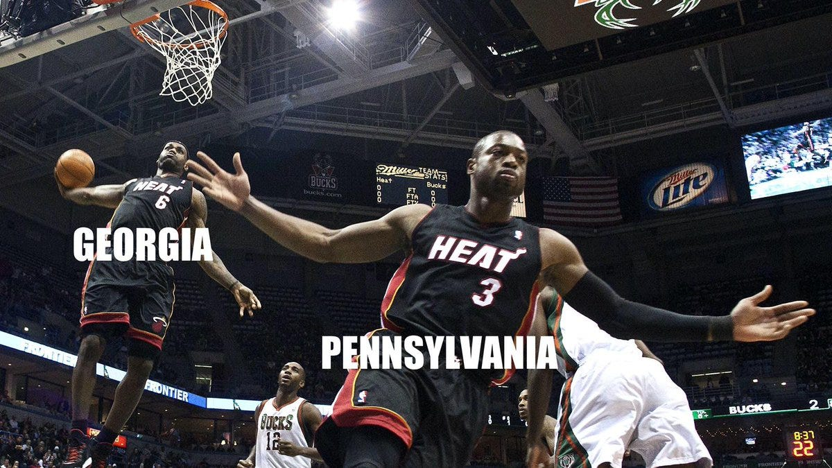 LeBron James dunks on Drumpf again