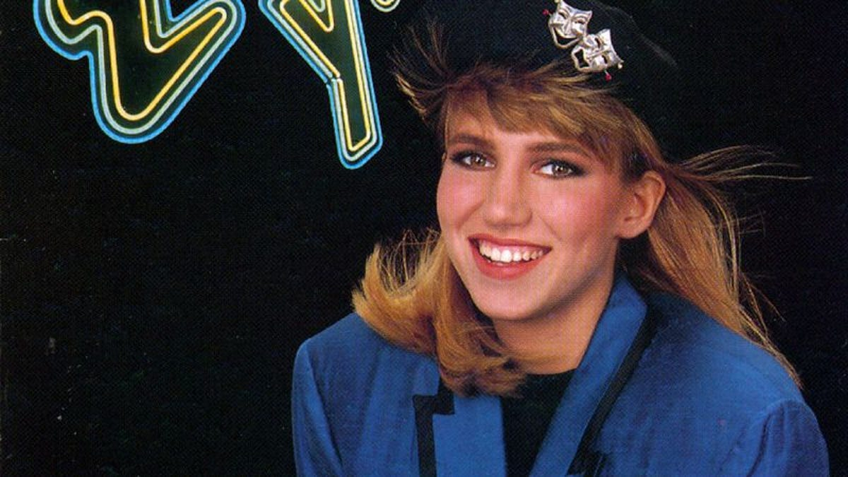 1988 LOST IN YOUR EYES by DEBBIE GIBSON vintage sheet music