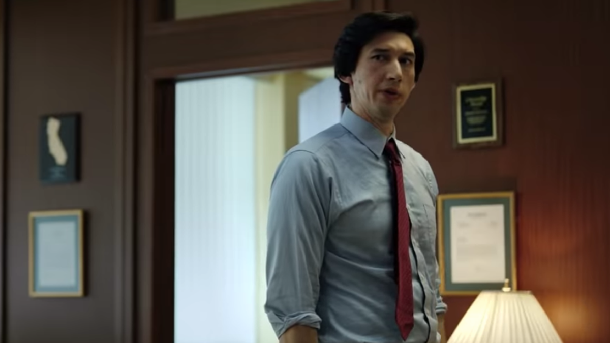 Join Adam Driver in revisiting the horrors of administrations past with new The Report trailer