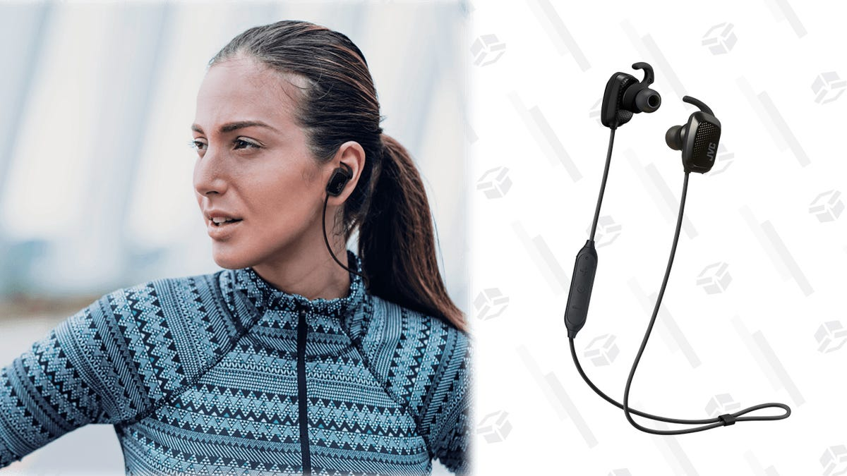 Up Your Running Game With an $18 Pair of Wireless Earbuds With Live Coaching thumbnail