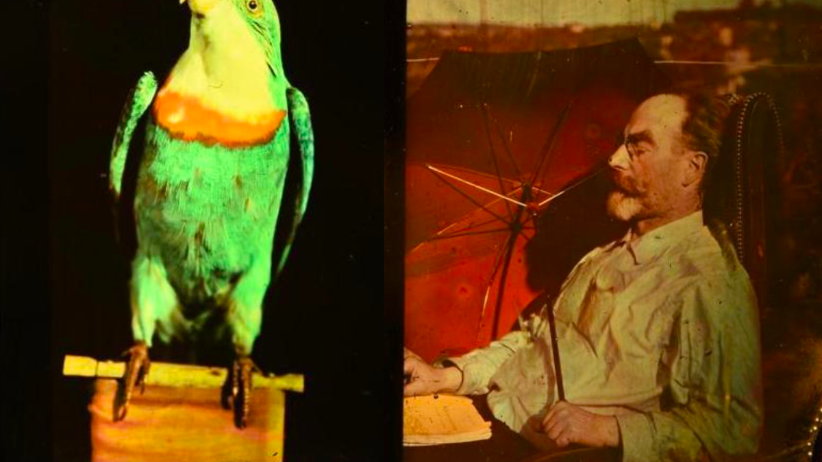 Researchers Get a Deeper Look at Some of the Oldest Color Photos Ever
