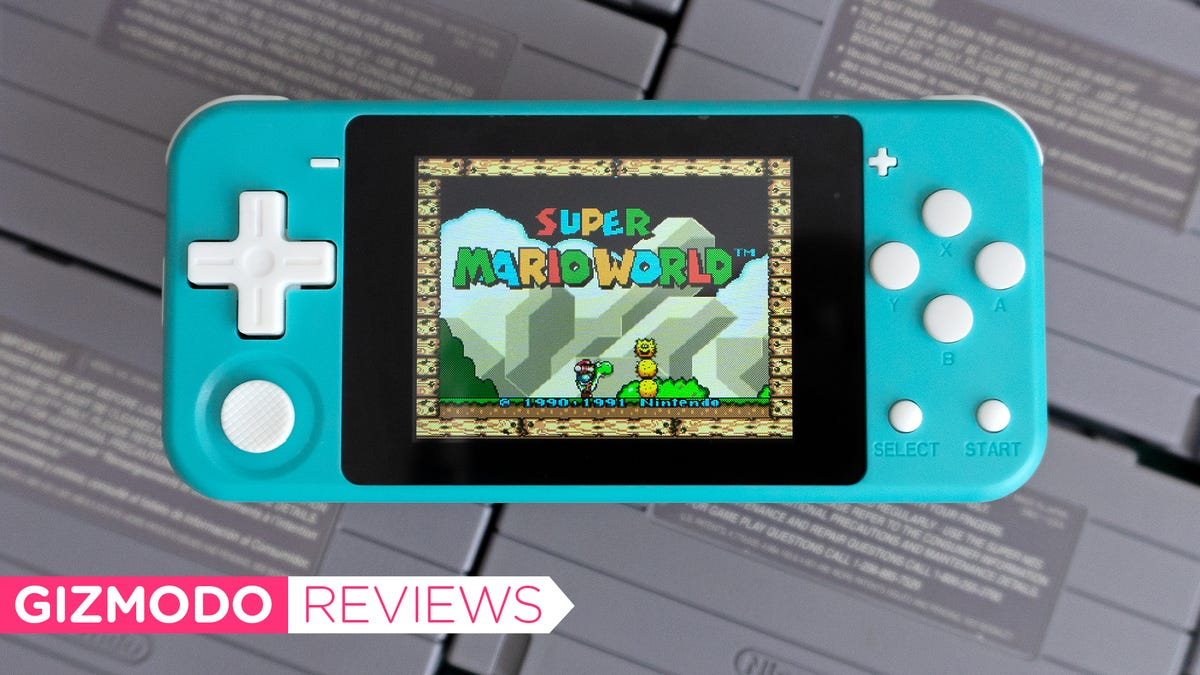 This $50 Mini Switch Lite Knock-Off is Underpowered But Fun As Hell