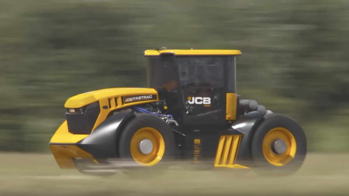 How This Bonkers 1,000 HP Tractor Set A Guinness World Record For Speed