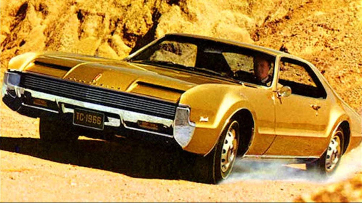 Oldsmobile Thought This Promotional Record Sounded Like Toronado Sales