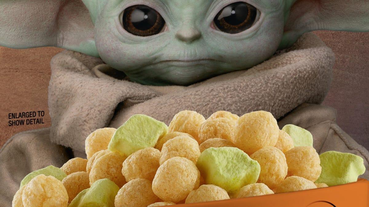 General Mills finally releases Baby Yoda breakfast cereal