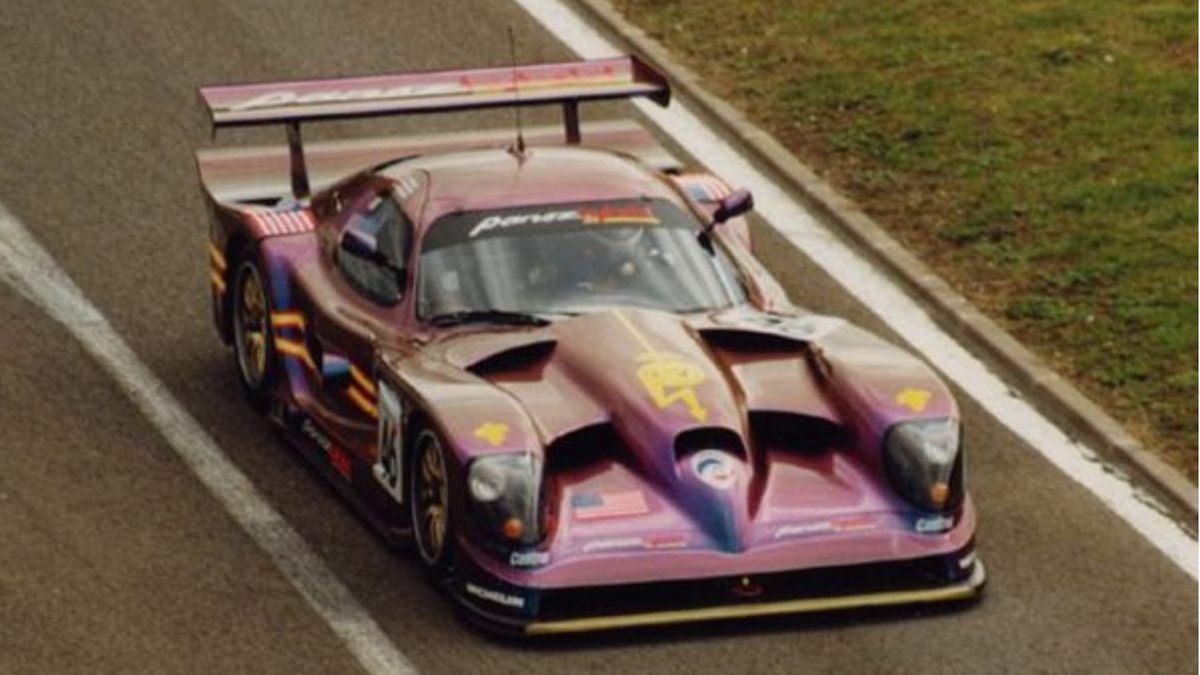 """Don Panoz Predicted The Future Of Endurance Racing With A V8 Esperante Hybrid He Called """"Sparky"""""""