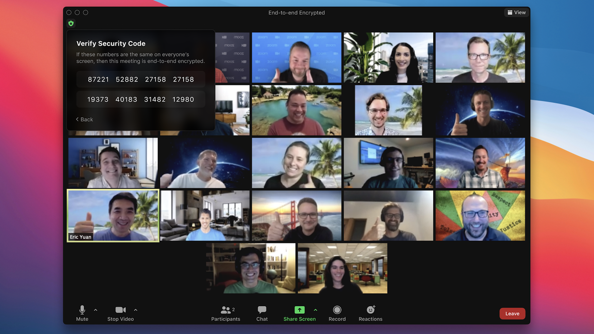 A technical preview of Zoom's end-to-end encryption (E2EE) will roll out to free and premium users in the next Windows, Mac, and Android app updates, with iOS and iPad soon to follow. Enabling Zoom's E2EE makes video calls much more secure, but there's a catc…