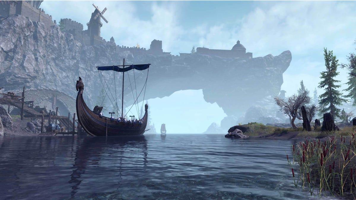 The Elder Scrolls Online Gets Its Next-Gen Glow Up June 8