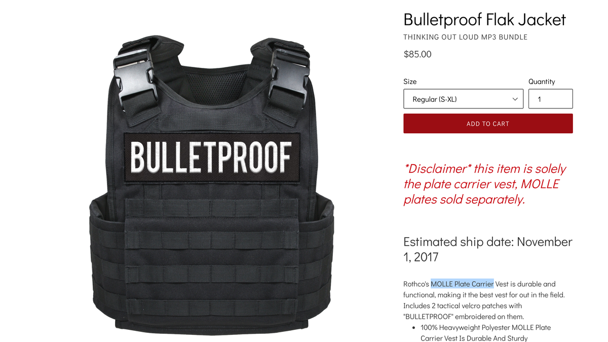 Young Dolph Is Selling A Bulletproof Vest Lest You Forget He Was Shot