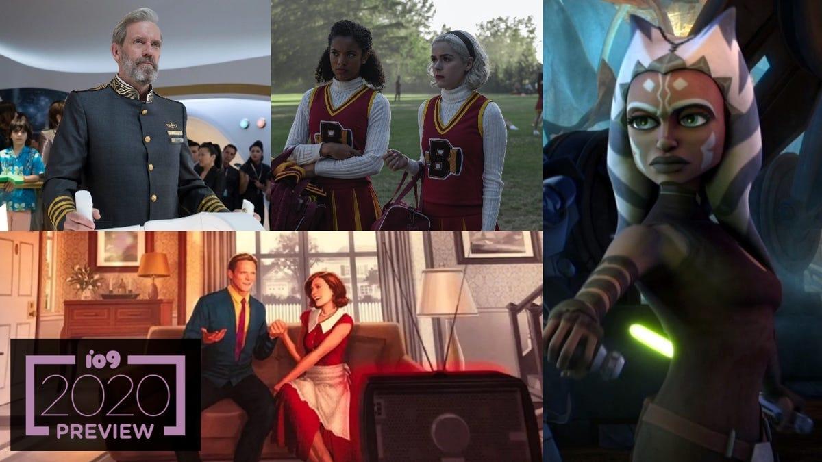 io9's Essential Guide to 2020's Sci-Fi, Fantasy, and Superhero TV