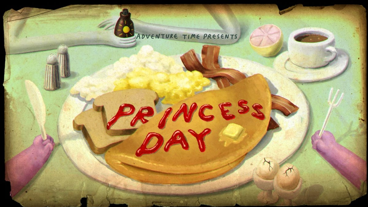 """Adventure Time Princess Day adventure time review - """"princess day"""""""
