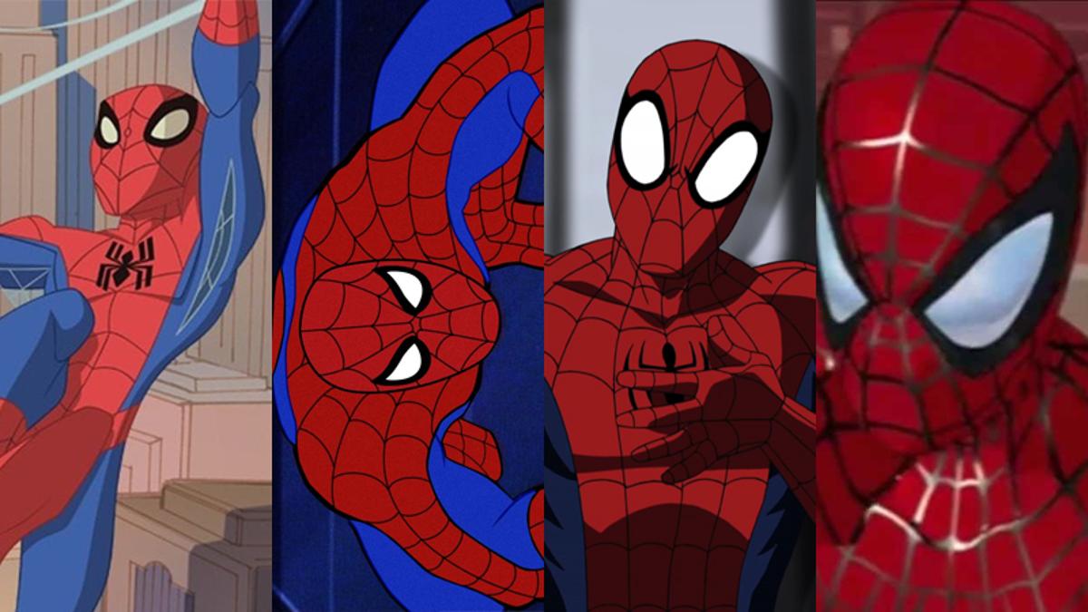 Every Marvel Spider Man Peter Parker Cartoon Ranked 1967 2017