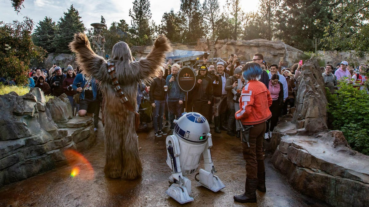 Star Wars: Galaxy's Edge Just Won...a Grammy?