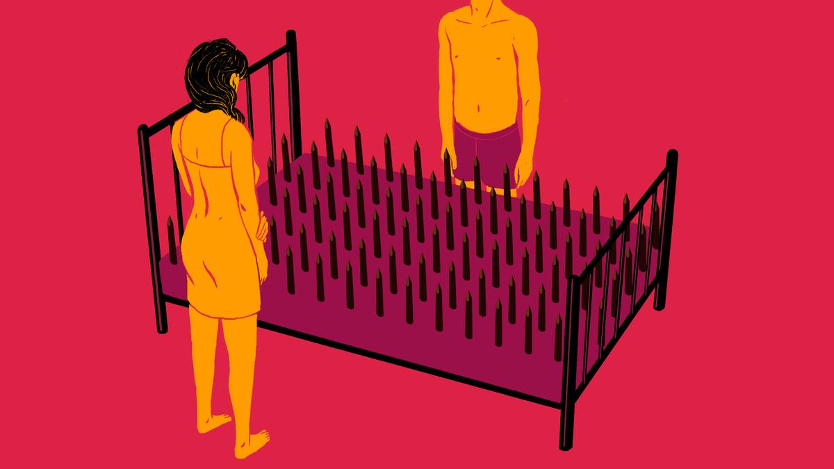 Quan hệ tình dục bị đau có thể tiềm ẩn những nguy cơ