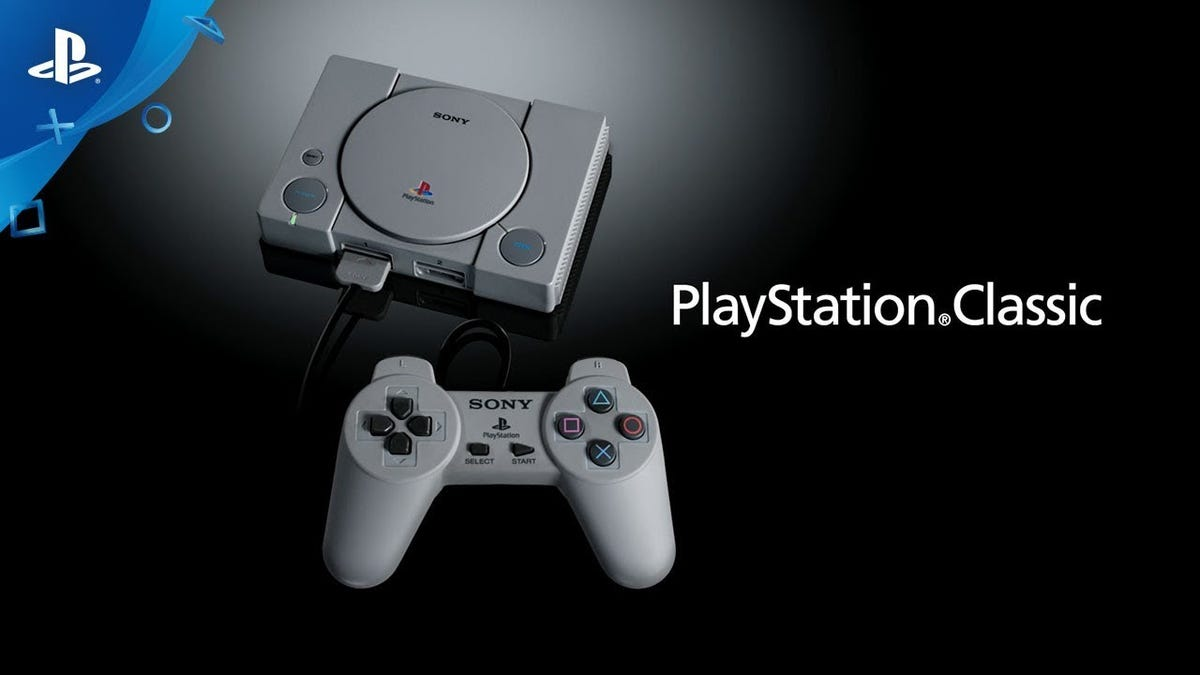 Preorder The Playstation Classic Before It Inevitably Sells Out