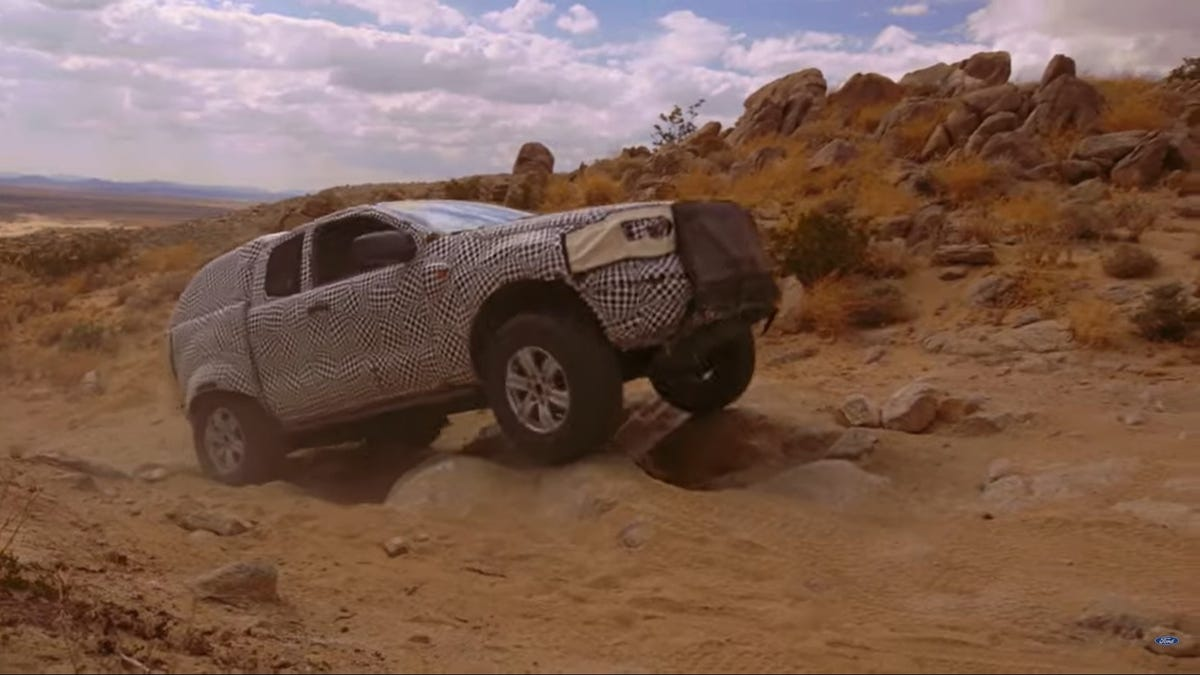Here's The 2020 Ford Bronco Prototype Showing Off