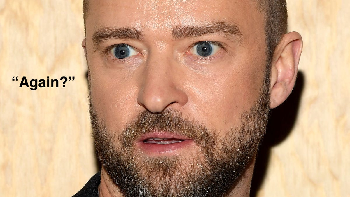 Once Again, Let's Circle Around Justin Timberlake and Point at Him Some More