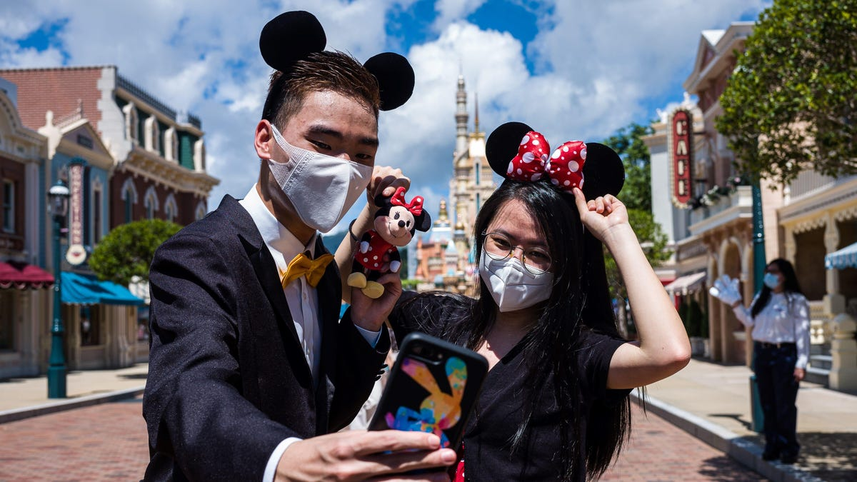 Hong Kong Disneyland Is Closing Again After a Coronavirus Spike of 50 Cases Per Day