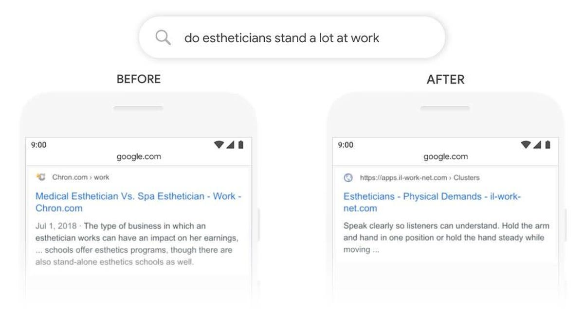 """Searching for information online sometimes takes creativity—depending on how you word a query, Google can bring back some wonky That's why Google announced today that it's improved search to better understand natural language for """"queries [it] can't anticipate."""""""