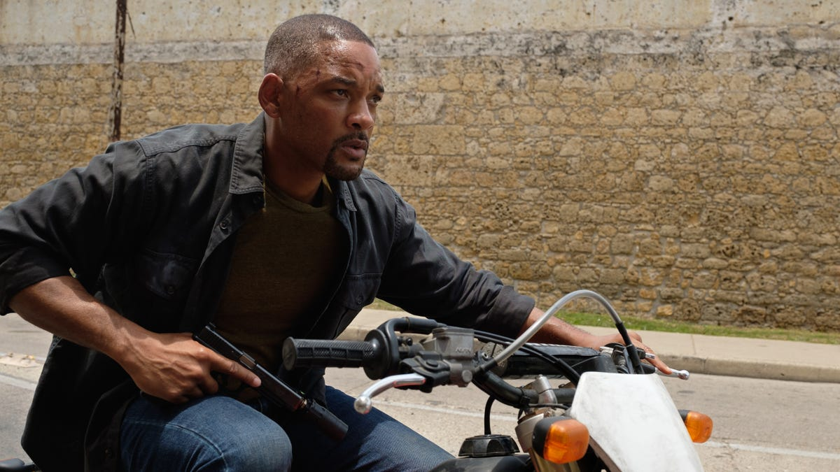Will Smith fights himself in Ang Lee's dopey but thrilling Gemini Man