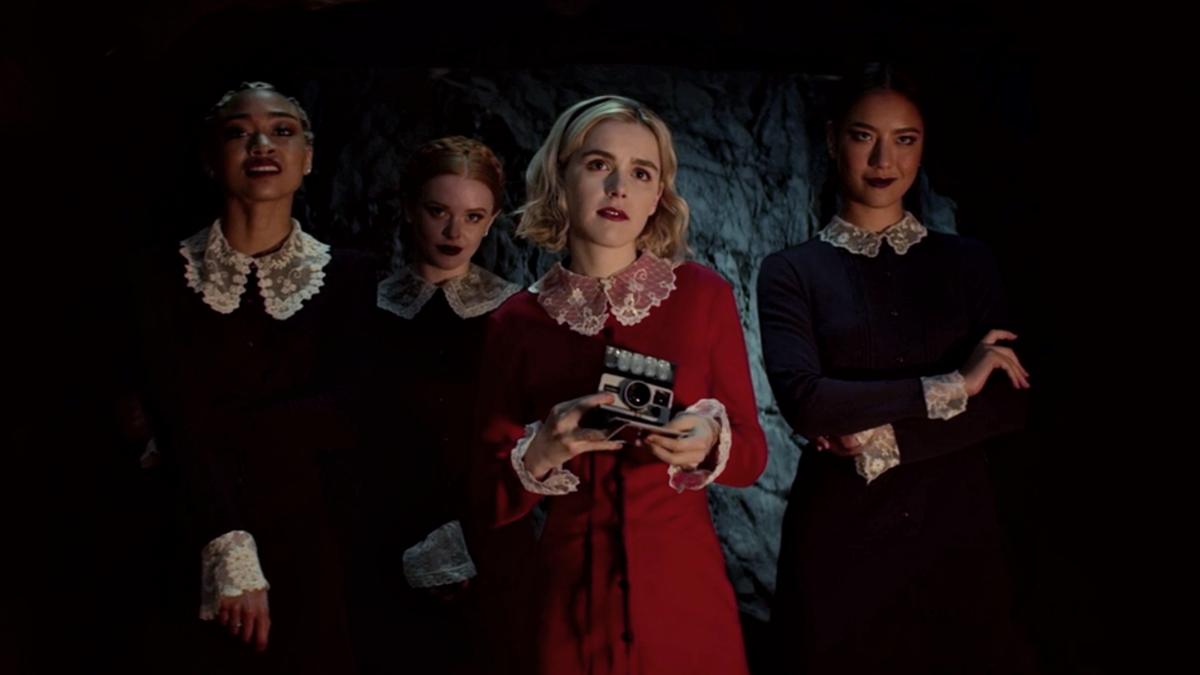 Weird Sisters Sabrina Outfits 11