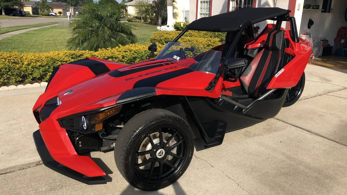 At $17,500, Could This '15 Polaris Slingshot Be A Trike You Might Like?