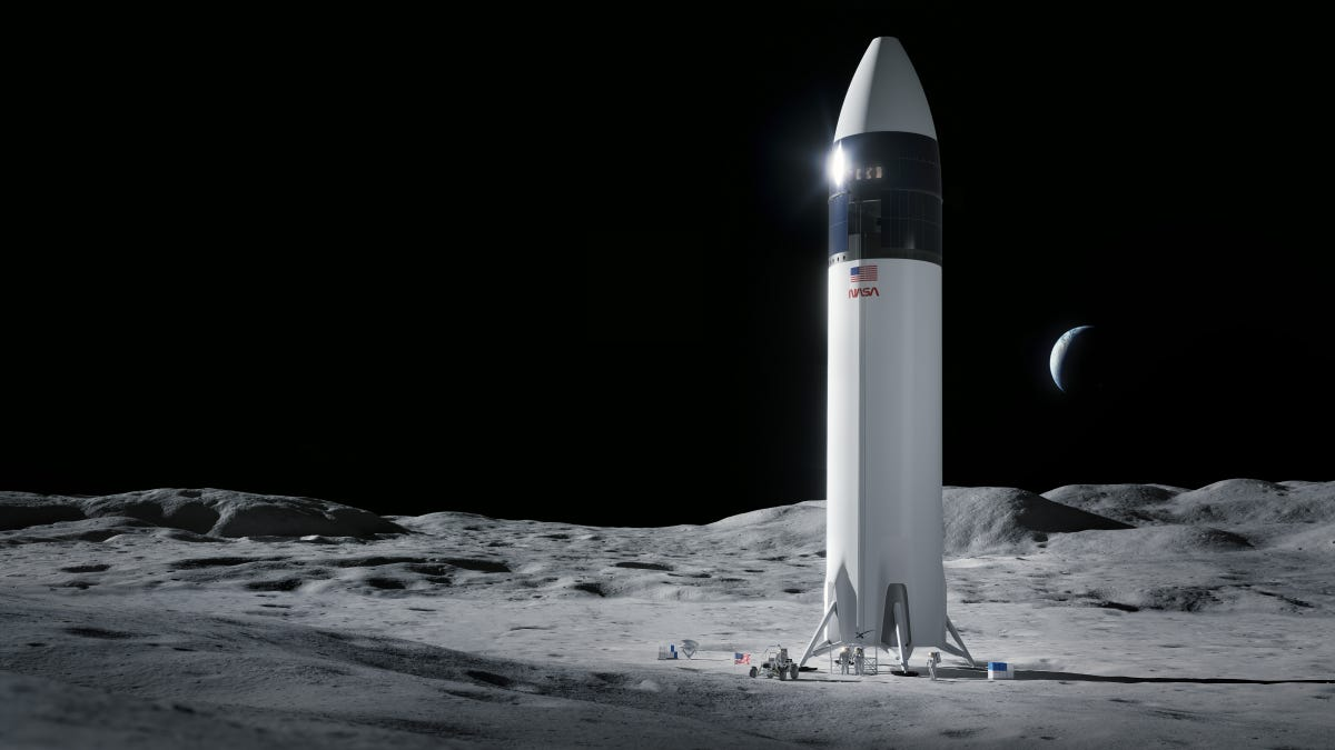 NASA Selects SpaceX to Build Upcoming Lunar Lander