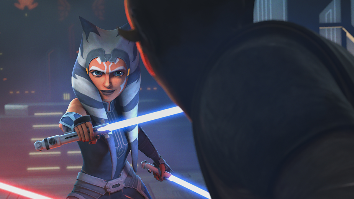 Maul Ahsoka Duel Viewed Side By Side With Revenge Of The Sith