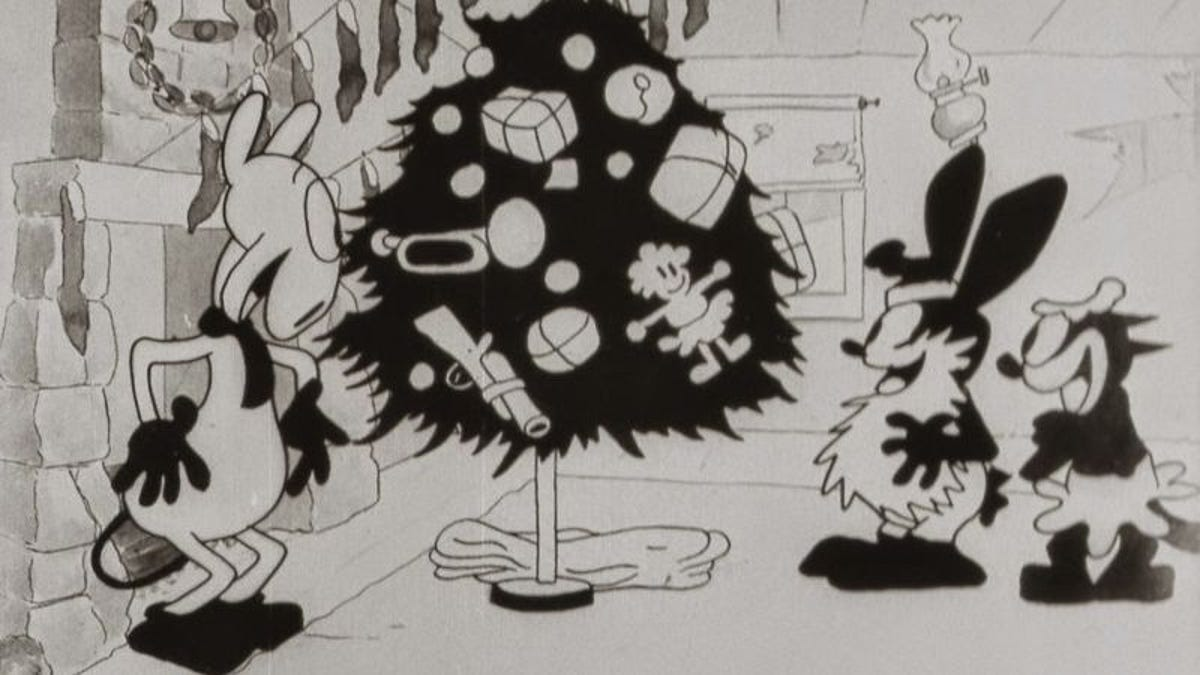 A lost Disney cartoon from 1927 has been found
