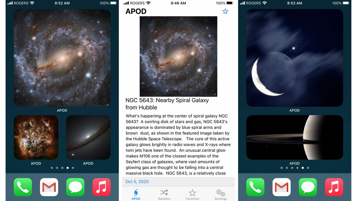Putting Nasa's Astronomy Picture of the Day On My Homescreen Finally Convinced Me to Use a Widget