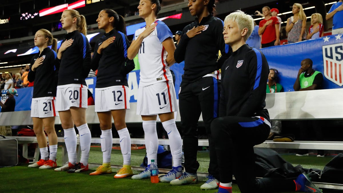 U.S. Soccer nixes ban on anthem protests, and one guy's dissent exposes the hypocrisy of the right wing
