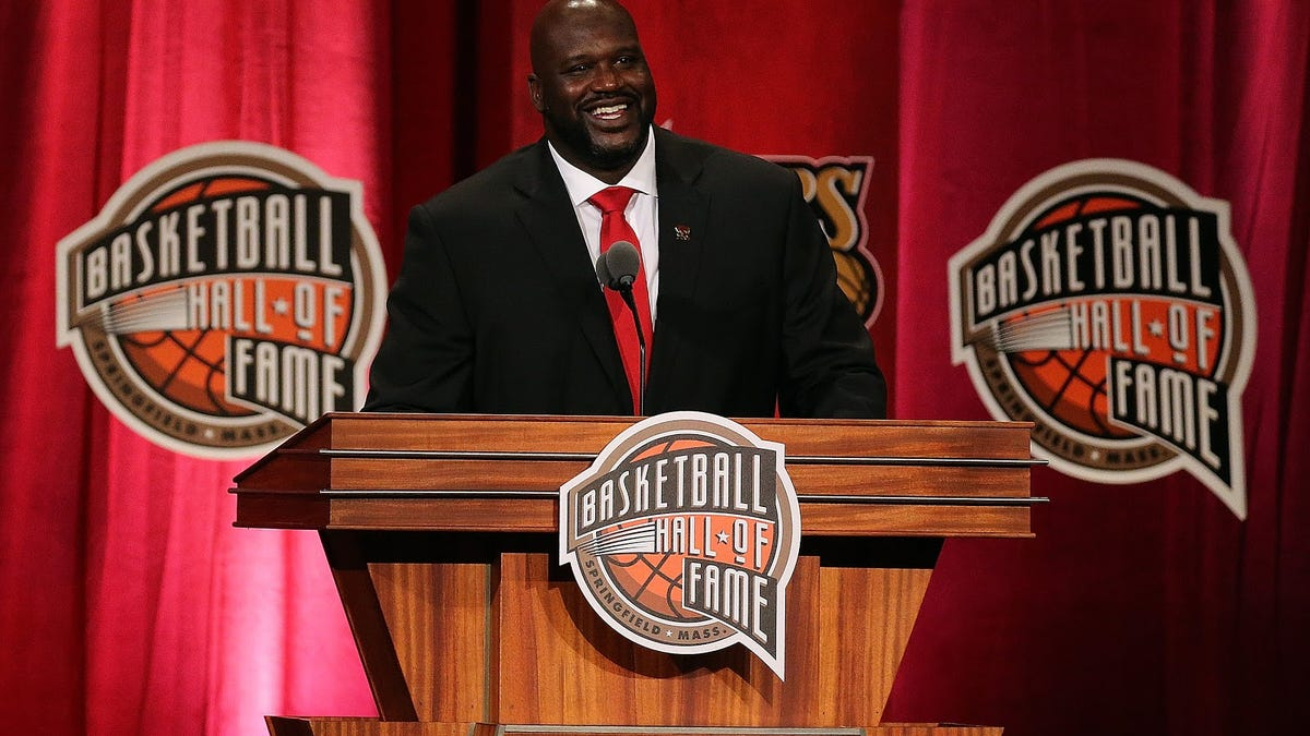It's OK to not be Shaquille O'Neal, and he should realize that