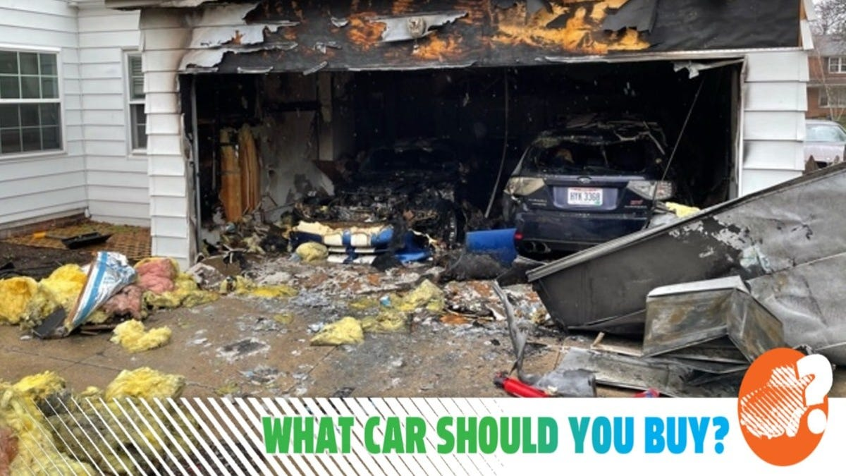 My Dodge Viper Caught Fire And Burned Down My Garage! What Car Should I Buy?