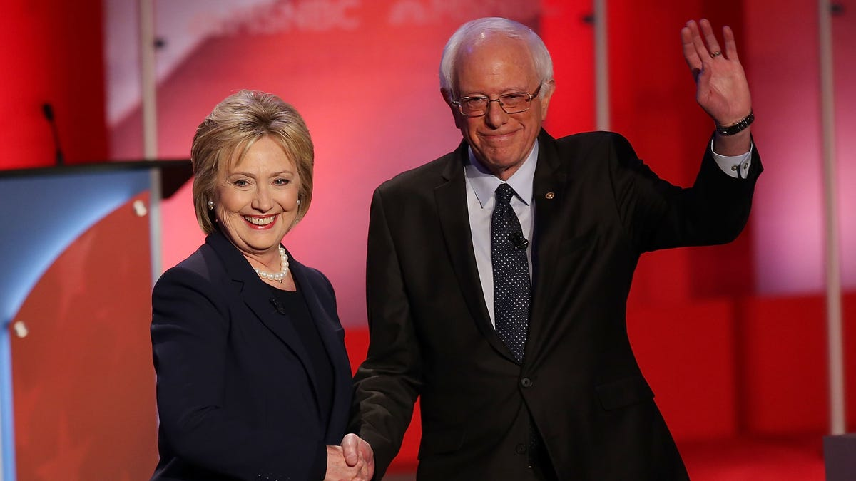 Hillary Says She'd Back Bernie, After All