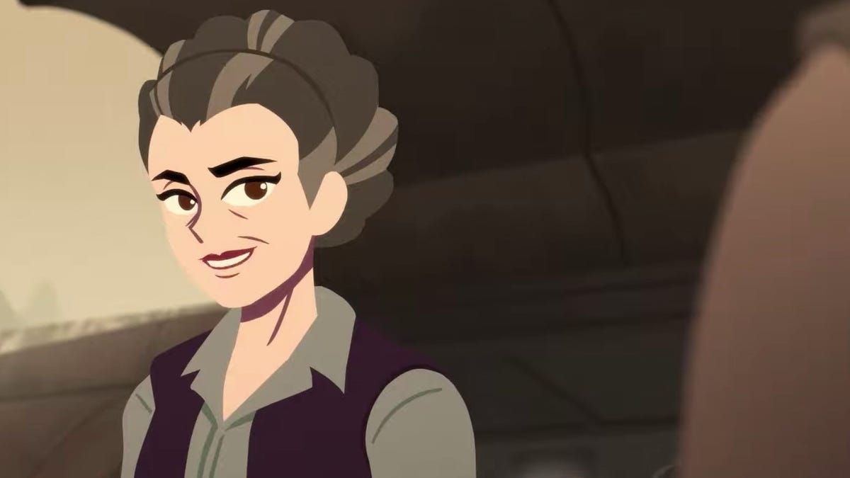 This Animated Princess Leia Star Wars Short Is Just Pure Joy