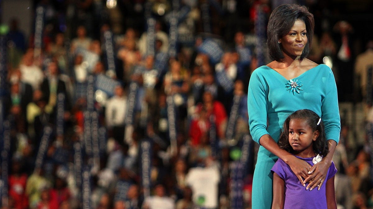 They Grow Up So Fast: Michelle Obama Talks About Taking Sasha to College, Says 'We Didn't Want to Embarrass He