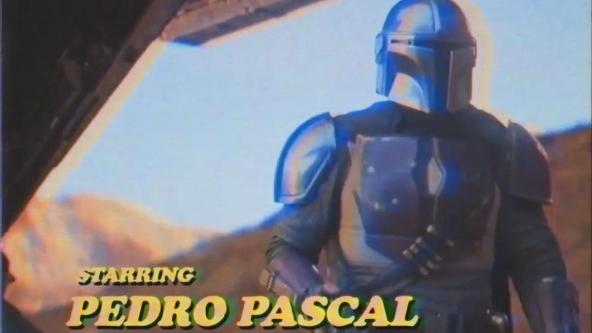 The Mandalorian Has Been Edited to Look Like a 1980s Sitcom and It's Strangely Perfect