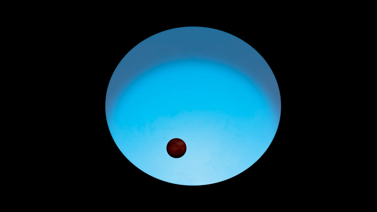 A Distant Blue Star Hosts One of the Most Extreme Exoplanets Known to Science