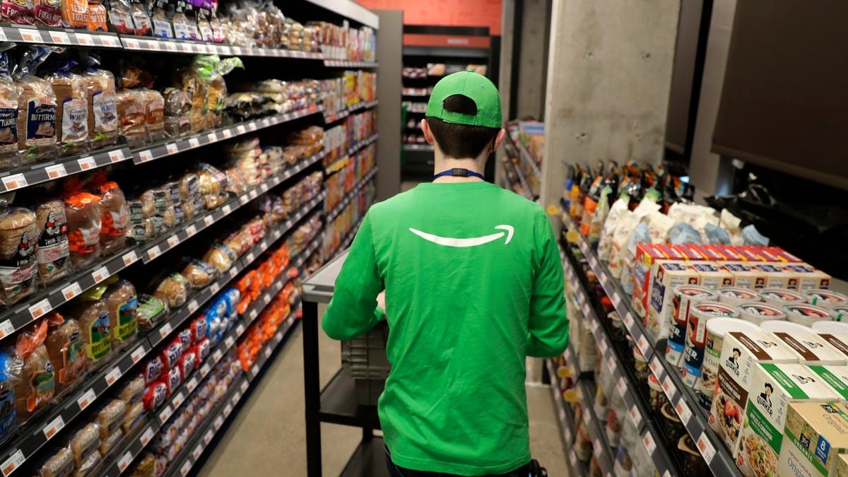 Amazon Opens Its First Full-Sized Cashless Go Grocery Store