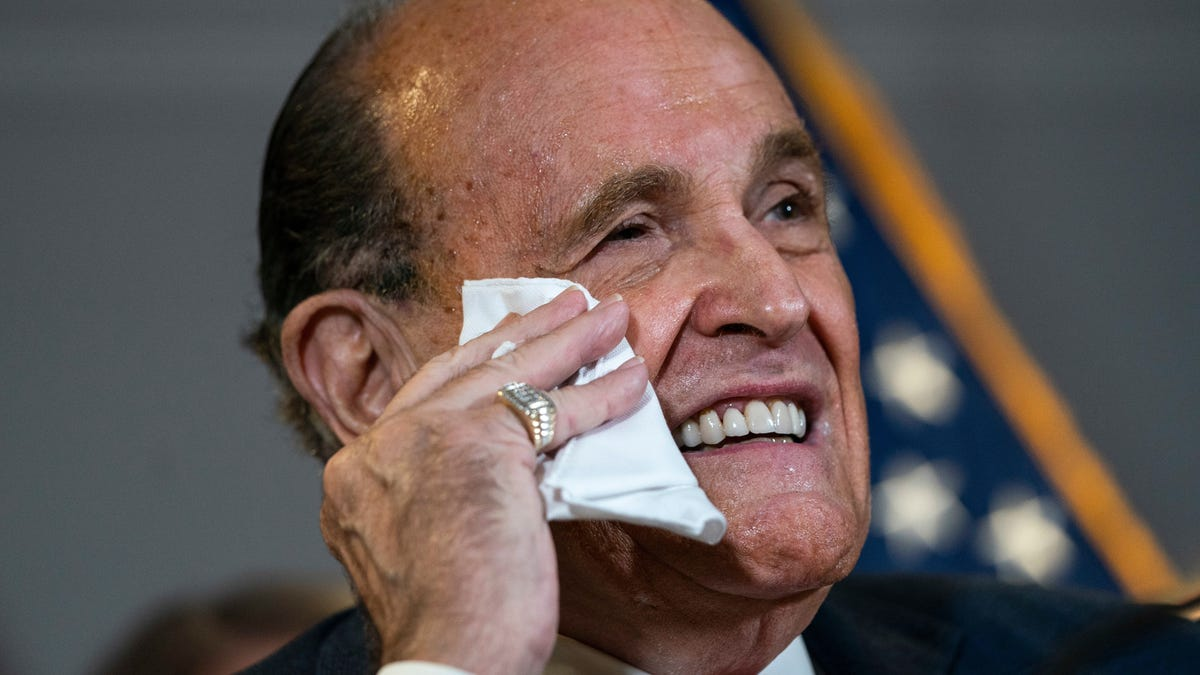 Rudy Giuliani Sued for $1.3 Billion